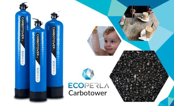 kolumna węglowa z węglem aktywnym Ecoperla Carbotower